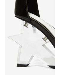 Jeffrey Campbell | Black Starla Patent Leather Heel | Lyst