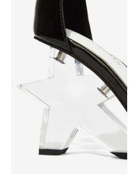 Jeffrey Campbell - Black Starla Patent Leather Heel - Lyst