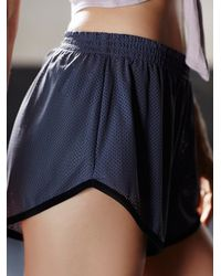 Free People - Multicolor Get Physical Short - Lyst