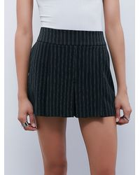 Free People | Black Womens Colby Skort | Lyst