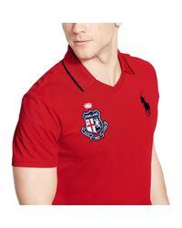 Ralph Lauren - Red England Polo Shirt for Men - Lyst