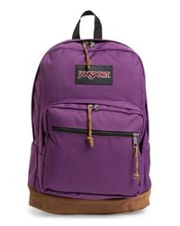 Jansport - 'right Pack' Backpack - Purple - Lyst