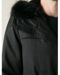 Yves Salomon | Black Mink Lined Parka for Men | Lyst