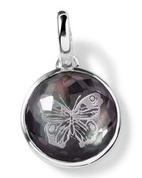 Ippolita | Metallic Sterling Silver Butterfly Intaglio Charm | Lyst