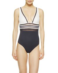 La Perla | Blue Non-wired Swimsuit | Lyst
