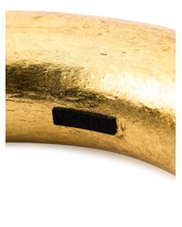 Monies - Metallic Tubular Choker - Lyst