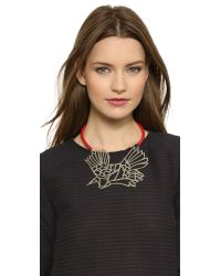 Carven | Red Carven - Nickel | Lyst