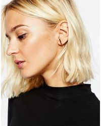 SELECTED | Metallic Gold Sally Earrings | Lyst