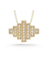 Dana Rebecca | Metallic Jeb Necklace in Gold | Lyst