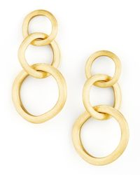 Marco Bicego - Metallic Jaipur Link Gold Large Drop Earrings - Lyst
