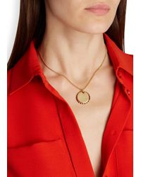Marc By Marc Jacobs - Metallic Lost And Found Gold Tone Bottle Top Necklace - Lyst