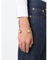 Alexander McQueen | Metallic Claw Twin Skull Bracelet for Men | Lyst