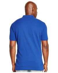 Polo Ralph Lauren | Blue Big And Tall Classic-fit Mesh Polo Shirt for Men | Lyst