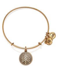 ALEX AND ANI | Metallic Seven Swords Ii Expandable Wire Bangle | Lyst