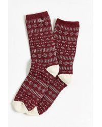 Obey - Purple Pitch Sock for Men - Lyst