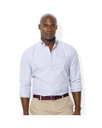 Ralph Lauren - Purple Polo Classicfit Solid Oxford Sport Shirt for Men - Lyst