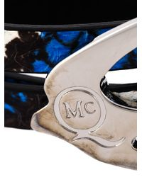 McQ   Multicolor Swallow Triple Wrap Bracelet   Lyst