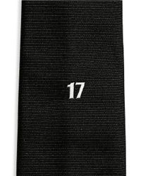 Givenchy | Black 17 Embroidery Silk Faille Tie for Men | Lyst
