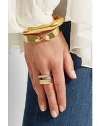 Chloé - Metallic Greta Gold-tone Ring - Lyst