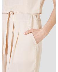 SIDELINE - Mona Jumpsuit Nude Pink - Lyst
