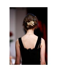 Dolce & Gabbana - Metallic Gold-tone Hair Clip - Lyst