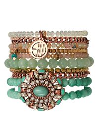 Samantha Wills | Blue Dreams Collide Bracelets, Set Of 9 | Lyst