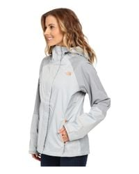 The North Face - Gray Venture Hybrid Jacket - Lyst