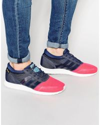 59298f54371f9a Lyst - adidas Originals Los Angeles Sneakers S79021 in Pink for Men