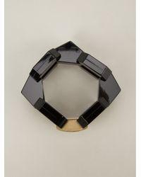Marc By Marc Jacobs - Metallic Bolt Link Bracelet - Lyst