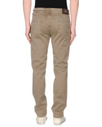 Luigi Borrelli Napoli - Natural Denim Trousers for Men - Lyst