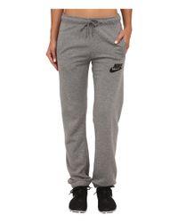 Nike - Black Rally Regular Pant - Lyst