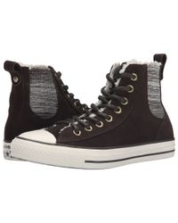 Converse - Brown Chuck Taylor® All Star® Chelsee Suede - Lyst