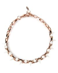 Joomi Lim - Metallic Choker Necklace - Lyst