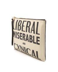Karen Walker - Liberal Miserable and Cynical Clutch Creamblack - Lyst