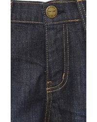 Current/Elliott - Blue The Ankle Skinny Mid Rise Jeans - Lyst