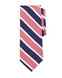 Brooks Brothers | Pink Framed Mogador Stripe Tie for Men | Lyst