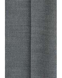 HUGO - Gray Straight Leg Trousers - Multicolor - Lyst