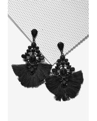 Nasty Gal | Back To Black Chandelier Earrings | Lyst