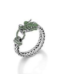 John Hardy - Metallic Legends Naga Dragon Head Bracelet - Lyst