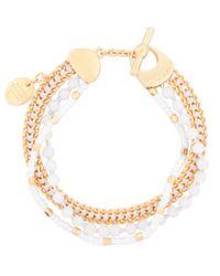 Henri Bendel | Metallic St Tropez Delicate Bracelet | Lyst
