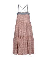 B.D. Baggies - Pink Knee-length Dress - Lyst