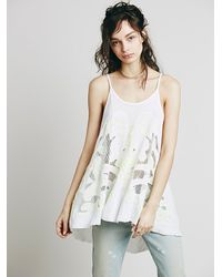 Free People - White First Glance Tunic - Lyst