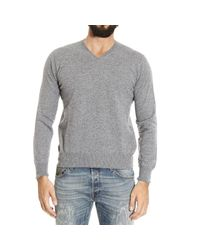 Cruciani | Gray Jumper for Men | Lyst