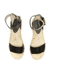 Soludos - Black Platform Open Toe Sandal - Lyst