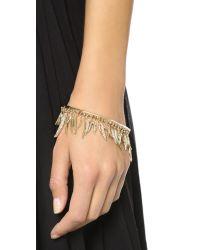 Eddie Borgo - Metallic Prickle Bracelet - Gold - Lyst