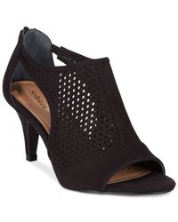 Style & Co. - Black Style&co. Hellaine Dress Booties - Lyst