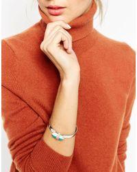 ASOS | Multicolor Color Pop Shard Open Cuff Bracelet | Lyst