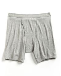 Calvin Klein | Gray Big And Tall Boxer Briefs for Men | Lyst