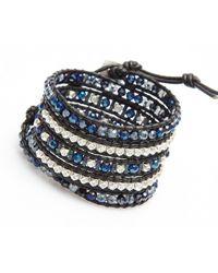 Nakamol | Multicolor Crucible Wrap Bracelet-cobalt | Lyst