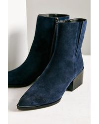 Circus by Sam Edelman | Blue Raylan Mid-length Boot | Lyst